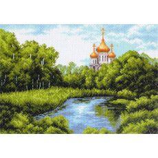 Тихая заводь, собор (37х49)