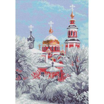 Зимний храм (37х49)