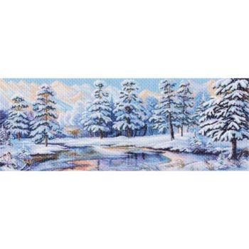 Зимний лес (90х40)