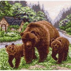 Медвежий угол (41х41)
