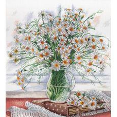 Нежность полевых цветов (30х31)