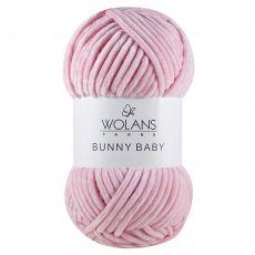 Пряжа Wolans Bunny Baby, цвет № 05 (Розовый)