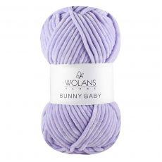 Пряжа Wolans Bunny Baby, цвет № 15 (Сирень)