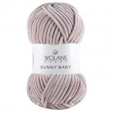 Пряжа Wolans Bunny Baby, цвет № 24 (Речной жемчуг)