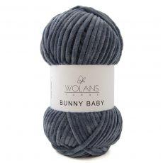 Пряжа Wolans Bunny Baby, цвет № 30 (Джинс)