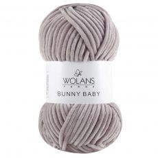 Пряжа Wolans Bunny Baby, цвет № 33 (Светло-серый)