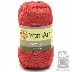 Пряжа Begonia YarnArt, цвет № 4910 (Коралловый)