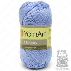 Пряжа YarnArt Begonia, цвет № 0058 (Голубой)