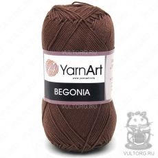 Пряжа Begonia YarnArt, цвет № 0077 (Шоколад)