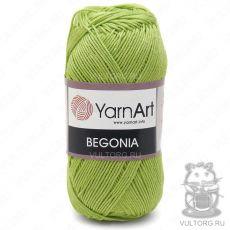 Пряжа Begonia YarnArt, цвет № 5352 (Салатовый)