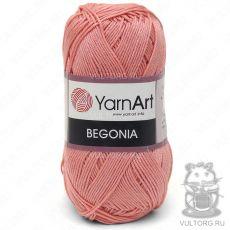 Пряжа Begonia YarnArt, цвет № 0329 (Коралловый)