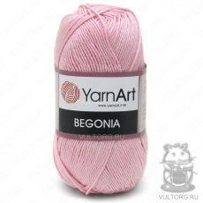 Пряжа YarnArt Begonia, цвет № 6313 (Светло-розовый)
