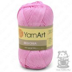Пряжа YarnArt Begonia, цвет № 5046 (Ярко-розовый)