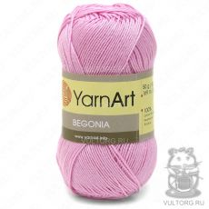 Пряжа YarnArt Begonia, цвет № 0319 (Розовый)