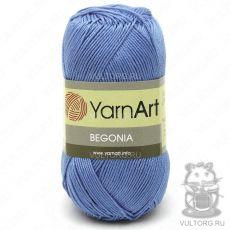 Пряжа YarnArt Begonia, цвет № 5351 (Джинс)