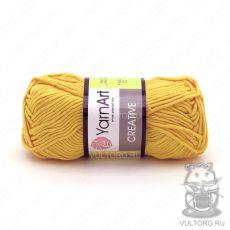 Пряжа Creative YarnArt, цвет № 228 (Жёлтый)
