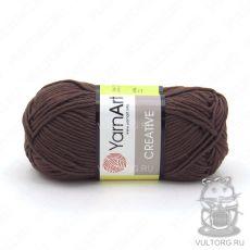 Пряжа Creative YarnArt, цвет № 232 (Коричневый)