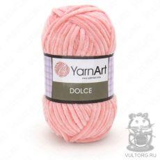 Пряжа YarnArt Dolce, цвет № 764 (Светло-розовый)