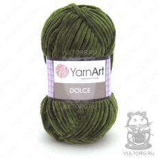 Пряжа YarnArt Dolce, цвет № 772 (Зеленый)