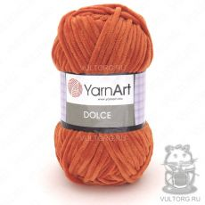 Пряжа Dolce YarnArt, цвет № 778 (Оранжевый)