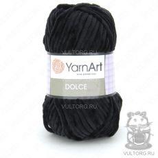 Пряжа YarnArt Dolce, цвет № 742 (Черный)