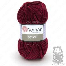Пряжа Dolce YarnArt, цвет № 752 (Бордовый)