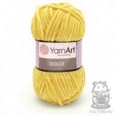 Пряжа Dolce YarnArt, цвет № 761 (Желтый)