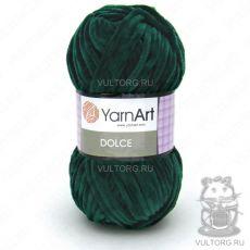 Пряжа Dolce YarnArt, цвет № 774 (Темно зеленый)