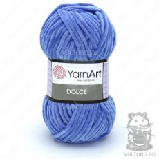 Пряжа YarnArt Dolce, цвет № 777 (Голубой)