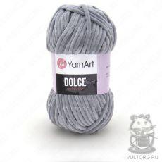 Пряжа YarnArt Dolce, цвет № 782 (Серый)