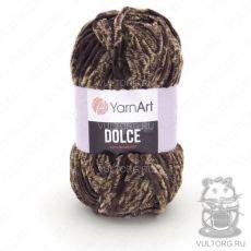 Пряжа YarnArt Dolce, цвет № 804 (Бежевый, коричневый)