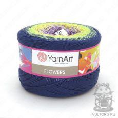 Пряжа Flowers YarnArt, цвет № 257