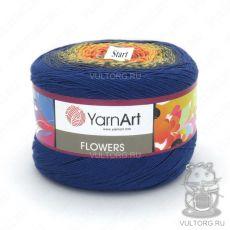 Пряжа Flowers YarnArt, цвет № 258