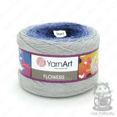 Пряжа Flowers YarnArt, цвет № 271