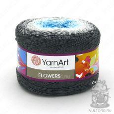Пряжа Flowers YarnArt, цвет № 251