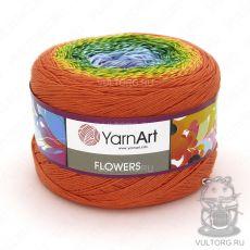 Пряжа Flowers YarnArt, цвет № 255