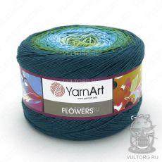 Пряжа Flowers YarnArt, цвет № 256