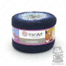 Пряжа Flowers YarnArt, цвет № 261