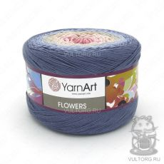 Пряжа Flowers YarnArt, цвет № 262