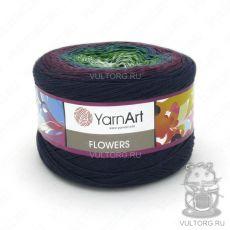 Пряжа Flowers YarnArt, цвет № 266