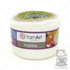 Пряжа Flowers YarnArt, цвет № 274