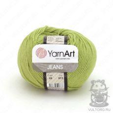 Пряжа YarnArt Jeans, цвет № 29 (Яркая фисташка)