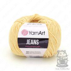 Пряжа YarnArt Jeans, цвет № 88 (Светло-желтый)