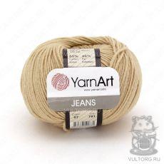 Пряжа Jeans YarnArt, цвет № 07 (Бежевый)