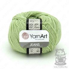 Пряжа YarnArt Jeans, цвет № 11 (Фисташка)