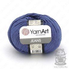 Пряжа Jeans YarnArt, цвет № 17 (Темный джинс)
