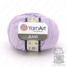 Пряжа Jeans YarnArt, цвет № 19 (Светло-сиреневый)