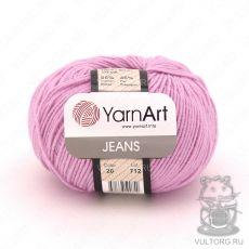 Пряжа Jeans YarnArt, цвет № 20 (Ярко-розовый)