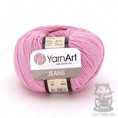 Пряжа Jeans YarnArt, цвет № 36 (Розовый)