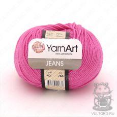 Пряжа YarnArt Jeans, цвет № 42 (Малиновый)